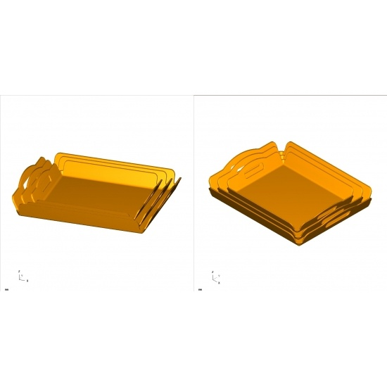 2019 New Design China Melamine Tray Mould